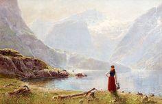 Hans Dahl (1849 - 1937).,