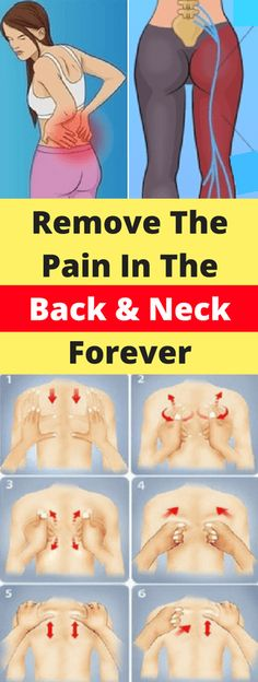 Remove The Pain In The Back & Neck Forever!!! - All What You Need Is Here