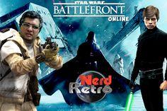 STAR WARS BATTLEFRONT   GAMEPLAY PTBR   NERD RETRÔ ONLINE
