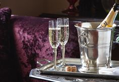 Cosi Tabellini at The Grove Hotel, Narberth. In Vino Veritas, Beautiful Interiors, Metallica, Pewter, Barware, Champagne, Bucket, Ceramics, Crystals