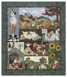 McKenna Ryan - Farm - full quilt