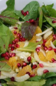 Orange/Fennel Salad with Greens