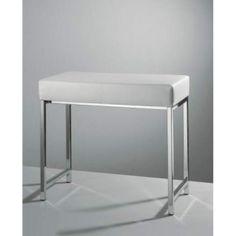 Decor Walther Sitzbank #weiß #chrom #modern #einrichtung #badezimmer #möbel  #