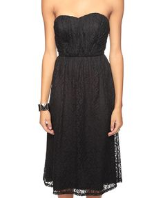 Victorian Lace Dress from Forever 21. I'm always a little nervous about their clothing, but this looks cute!
