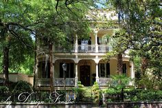 Magnolia Hall; Savannah, Georgia