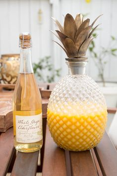 pineapple decanter - #Pier1Love sponsored