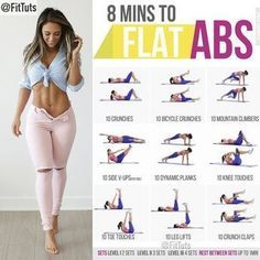 "Fitness Tutorials 〽️ on Instagram: ""8 mins to flat abs workout! Will you do it? : Tag a friend - like - save 〽️: Follow @FitTuts"""