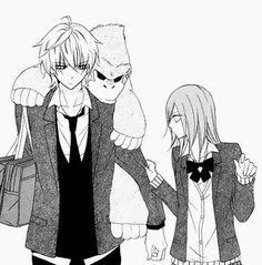 Namaikizakari You. Anime Couples Manga, Manga Anime, Naruse Shou, Namaikizakari, Manga Cute, Manga Comics, Black And White Pictures, Anime Shows, Poses