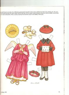 Sew Beautiful paper doll Mary 2 by Lagniappe*Too, via Flickr