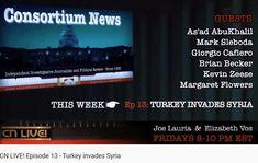 Ep 13 - 11 Oct 2019 Journalism, Syria, Politics, Live, Journaling