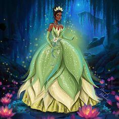 Disney Princesses as Fenty Beauty models - Who is your favorite? Disney Kiss, Disney Princess Tiana, Disney Princess Fashion, Disney Princesses And Princes, Disney Princess Quotes, Princess Art, Disney Fan Art, Disney Love, Frog Princess