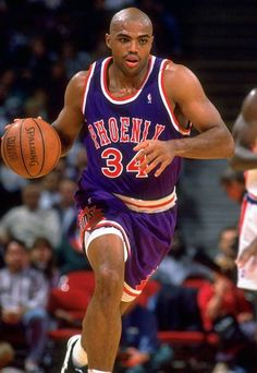 A relentless and undersized power forward, CHARLES BARKLEY outplayed, outperformed, and outclassed opponents who regularly stood more than half a foot taller than him. He was capable of controlling the defensive rebound and dribbling the length of the court for a ferocious finish at the rim. In 1993, Barkley was named the NBA's Most Valuable Player and was the catalyst for a Phoenix Suns team that recorded the best record in the league and advanced to the NBA Finals.
