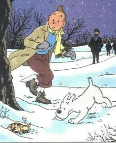 Tin Tin Cartoon, Herge Tintin, Comic Art, Comic Books, Ligne Claire, Snoopy, Fursuit, Caricature, Mickey Mouse