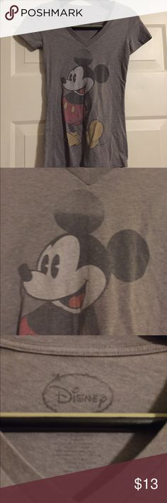 Disney Mickey Mouse V neck XS t shirt Smoke and pet free home. Bundle discount 20% Disney Tops Tees - Short Sleeve