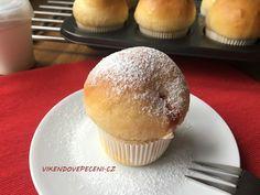 Koblihy pečené jako muffiny - Víkendové pečení Muffins, Czech Recipes, Something Sweet, Cake Pops, Food Porn, Food And Drink, Cupcakes, Sweets, Bread