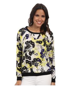NYDJ Sunny Floral Sweatshirt. #nydj #cloth #
