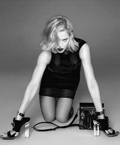 Madonna by Mert & Marcus for Versace