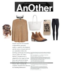 """""""Another Girl"""" by foxescitys on Polyvore featuring H&M, Charlotte Russe, Alexander McQueen and Casetify"""