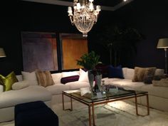 Lilian August showroom at High Point Market; photo taken by Taylor & Taylor Designs, Inc.