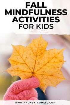 Looking for some mindfulness activities to try with the kids this autumn? You'll love this great list of fall mindfulness activities, including deep breathing exercises, fall yoga for kids, gratitude crafts, and fall themed guided meditations. Coping Skills Activities, Social Emotional Activities, Emotions Activities, Infant Activities, Mindfulness For Kids, Mindfulness Activities, Mindfulness Meditation, Autumn Activities For Kids, Halloween Activities
