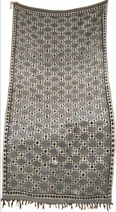 Vintage Moroccan rug via Etsy.