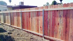 """WHEN IT COMES TO INSTALLING WOOD FENCE I RECOMMEND MASTER POSTS.     METAL FRAME SO IT WOUNT SAG         2"""" X 4"""" TOP AND BOTTOM RAI..."""