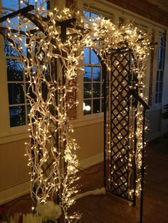 Lighted Arbor-- Wedding or Party Arbor on Etsy, $300.00