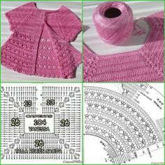 Discover thousands of images about Irish lace, crochet, crochet patterns, clothing and decorations for the house, crocheted. IG ~ ~ crochet yoke for girl's dress ~ pattern diagram Elegant dresses + crochet skirt of tulle. Gilet Crochet, Crochet Vest Pattern, Crochet Diy, Crochet Fabric, Crochet Basics, Irish Crochet, Crochet Stitches, Crochet Patterns, Crochet Baby Sweaters