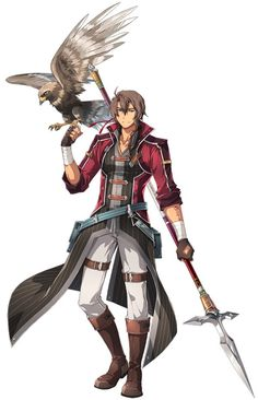 Image trails of cold steel, character art, character design, character ideas, fire Anime Warrior, Fantasy Warrior, Boy Character, Character Concept, Character Ideas, Trails Of Cold Steel, Mecha Suit, The Legend Of Heroes, Fanarts Anime