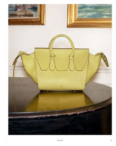 2a99b935e679 Celine Yellow Small Tie Tote Bag - Fall Winter 2014 Louis Vuitton  Sunglasses
