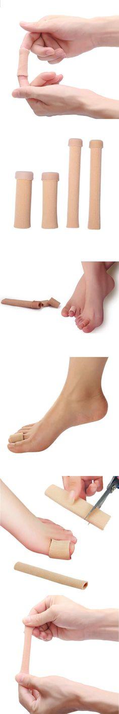1Pcs Big Toe Separator Tube Bandage Toe Separators Finger Hallux Valgus Correction Pedicure Device Straightener Feet Care Tool