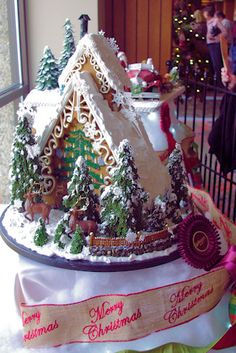 National Gingerbread House Competition   November 19-January 1 at the Omni Grove Park Inn  Sunday-Thursday, 9 am - 9 pm