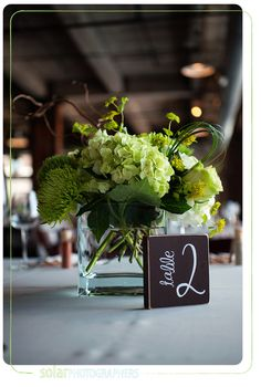 Erin Volante Floral: Vibrant Poppy and Green Wedding at The Hobbs Building
