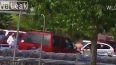 #DESTACADAS:  El dramático momento en el que una embarazada atropella al hombre que la robó - RT en Español - Noticias internacionales