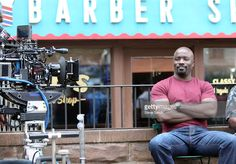 Mike Colter stars as the title character in Marvel / Netflix's 'Luke Cage:Hero For Hire' on September 22, 2015 in New York City.