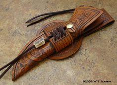 Leather tooled knife sheath - Google Search