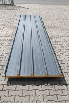 Sandwich panels (Product) - Twentse Platen Specialist in 2020 Roof Cladding, House Cladding, Cladding Systems, Facade House, Garage Design, Roof Design, House Design, Metal Roof Cost, Rustic Shed