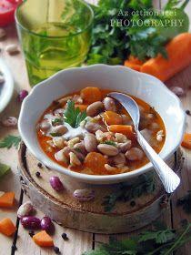 Az otthon ízei: Nyári fejtettbab leves Cheeseburger Chowder, Thai Red Curry, Ramen, Soup, Ethnic Recipes, Soups