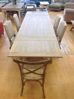 Large Isabelle french country weathered oak dining tableMedium Daddy Zinc Top Oak Dining Table with oak frame   eBay  . Oak Dining Table Ebay. Home Design Ideas