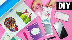 DIY - Dicas Incríveis para Decorar com Imagens  Capinha de Celular + C...