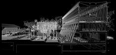 Galería de Beals + Lyon Arquitectos, mención honrosa en concurso del futuro edificio FADEU-CMPC - 11