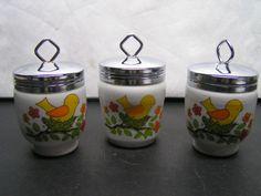 Egg Coddlers Sunny Yellow Bird - LORRIE Style
