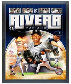 "Mariano Rivera New York Yankees 11"" x 14"" Photo in a Glassless Sports Frame"