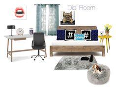 """Didis Room"" by lunita2 ❤ liked on Polyvore featuring interior, interiors, interior design, home, home decor, interior decorating, Kensie, Southern Enterprises, Jonathan Adler and Alexandra Ferguson"