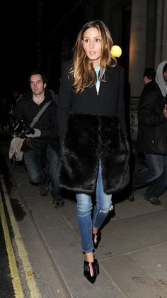 Olivia Palermo Photos - Celebrities attend LFW a/w 2014: Matthew Williamson show at Great George St. - Zimbio