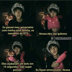 Thats cute but disgusting😂 Bts Memes, Bts Jin, Bts Bangtan Boy, K Pop, Seokjin, Bts Facts, Bts Quotes, I Love Bts, Worldwide Handsome