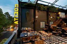 The great outdoors at Romita-Comedor-Restaurant-Mexico-City
