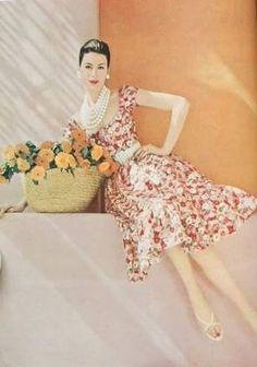 Leombruno-Bodi, Vogue June 1959 | vintage fashion magazines