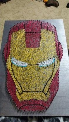 Ironman String Art