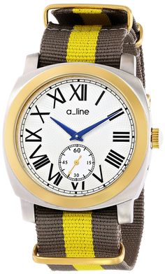 a_line Women's AL-80023-YG-SS-02GY Pyar Analog Display Japanese Quartz Two Tone Watch ** Startling review available here